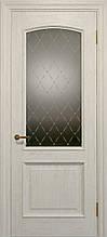 Двери ELEGANTE E-012.1, полотно, шпон, срощенный брус сосны