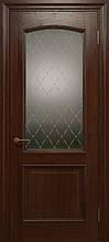 Двери ELEGANTE E-012.1, полотно+коробка+1 к-кт наличников, шпон, срощенный брус сосны