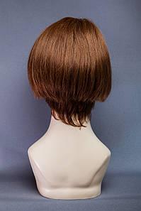 Натуральный парик №15,Цвет молочный шоколад