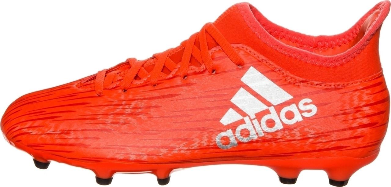 Детские футбольные бутсы Adidas X 16.3 FG J (S79489) - Оригинал.