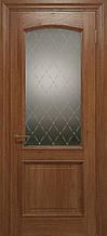 Двери ELEGANTE E-012.1, полотно+коробка+2 к-кта наличников+добор 90 мм, шпон, срощенный брус сосны