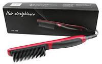 Массажная расческа выпрямитель Fast Hair Straightener ASL-908