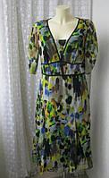 Платье женское р.48 летнее легкое бренд Per Una