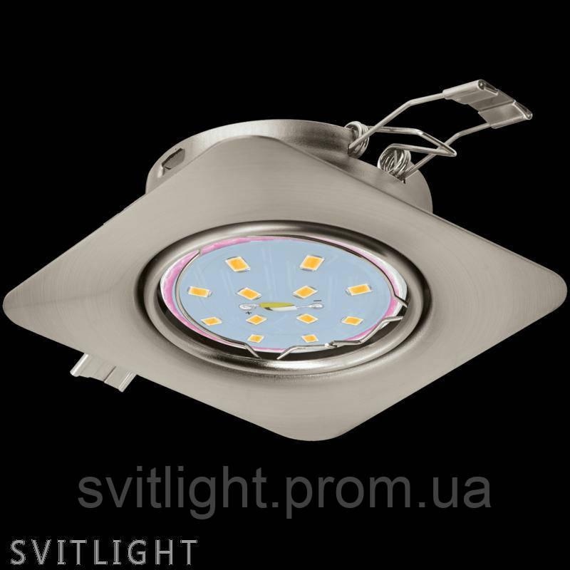 Точечный светильник встраиваемый 94264 Eglo. Врезной точечный светильник для гипсокартонных и натяжных