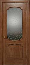 Двери ELEGANTE E-022.1, полотно+коробка+1 к-кт наличников, шпон, срощенный брус сосны