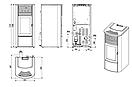 Пеллетная печь MCZ CLIO Hydro 16, фото 6