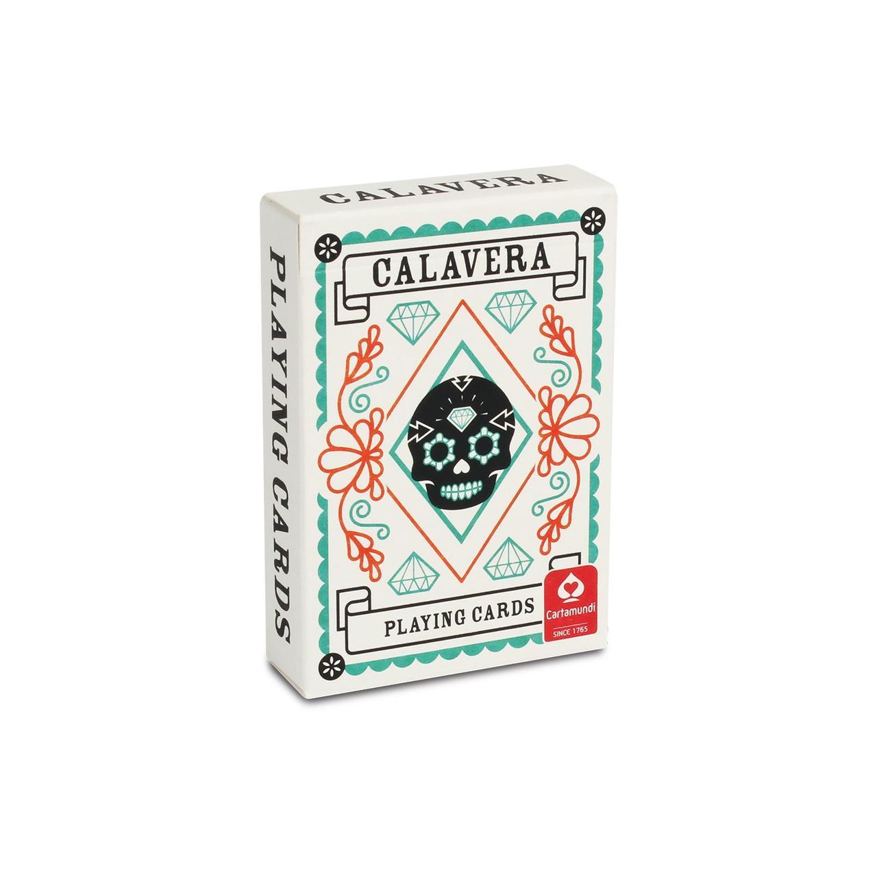 Карты игральные   Cartamundi Calavera