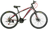 Велосипед спортивный impuls 26 TANK-NEW ЧЁРНО-КРАСНЫЙ , фото 1