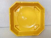 Арена для игры в бейблейд (beyblade) желтая 40 см.