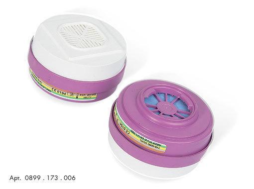 Фильтры для защиты от газов, пыли, противоаэрозольные 0899173006 для полумаски HM 173 Wurth