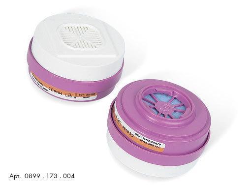 Фильтры для защиты от газов, пыли, противоаэрозольные 0899173004 для полумаски HM 173 Wurth