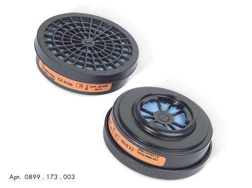 Фильтры для защиты от газов, пыли, противоаэрозольные 0899173003 для полумаски HM 173 Wurth