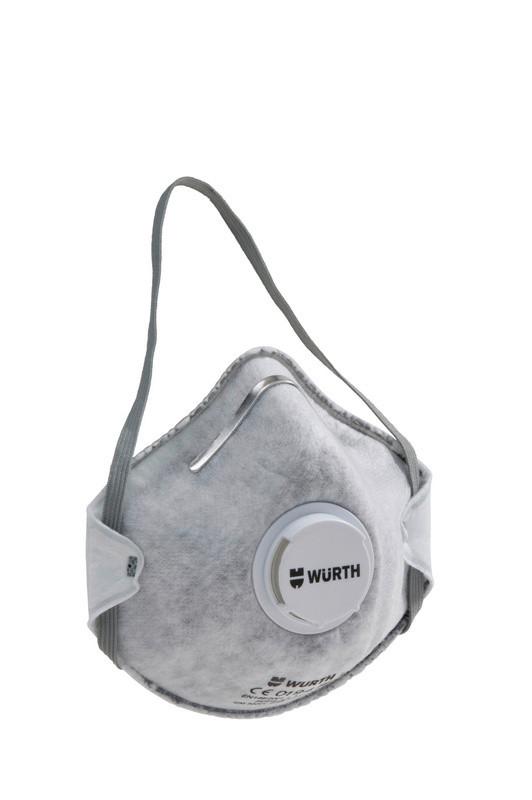 Маска CM 3000 с активированным углем V FFP2 NR D Wurth