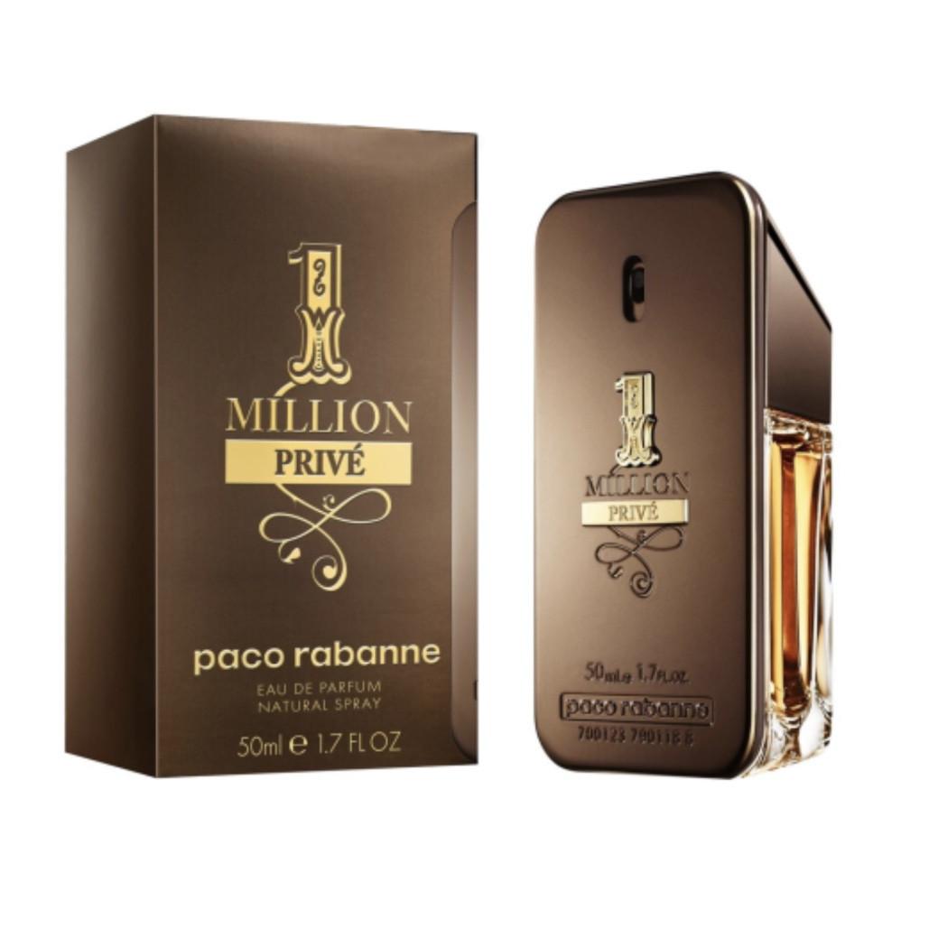 Оригинальный мужской аромат PACO RABANNE 1 Million Prive 50ml парфюмированная вода, пряный-древесный аромат