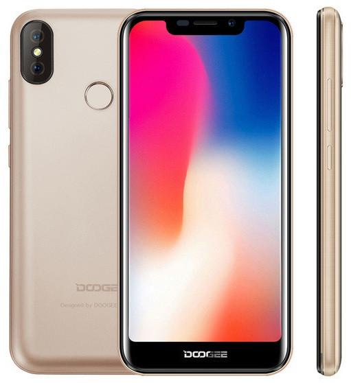 "Смартфон Doogee x70 Gold 2/16Gb, 8+5/5Мп, MT6580, 2sim, 5.5"" IPS, 4000mAh, GPS, 4 ядра, 3G"