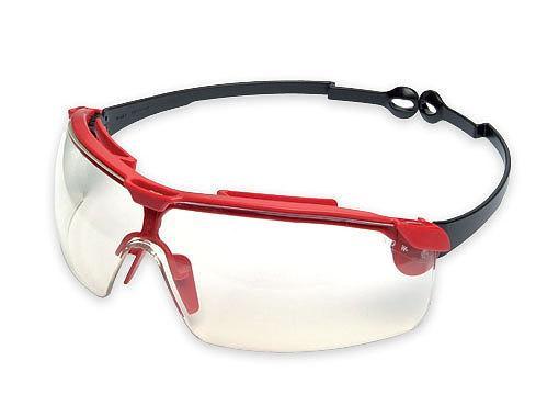 Защитные очки Sirius с комплектом стекол прозрачные, серые, янтарные и чехол-сумка для очков Wurth