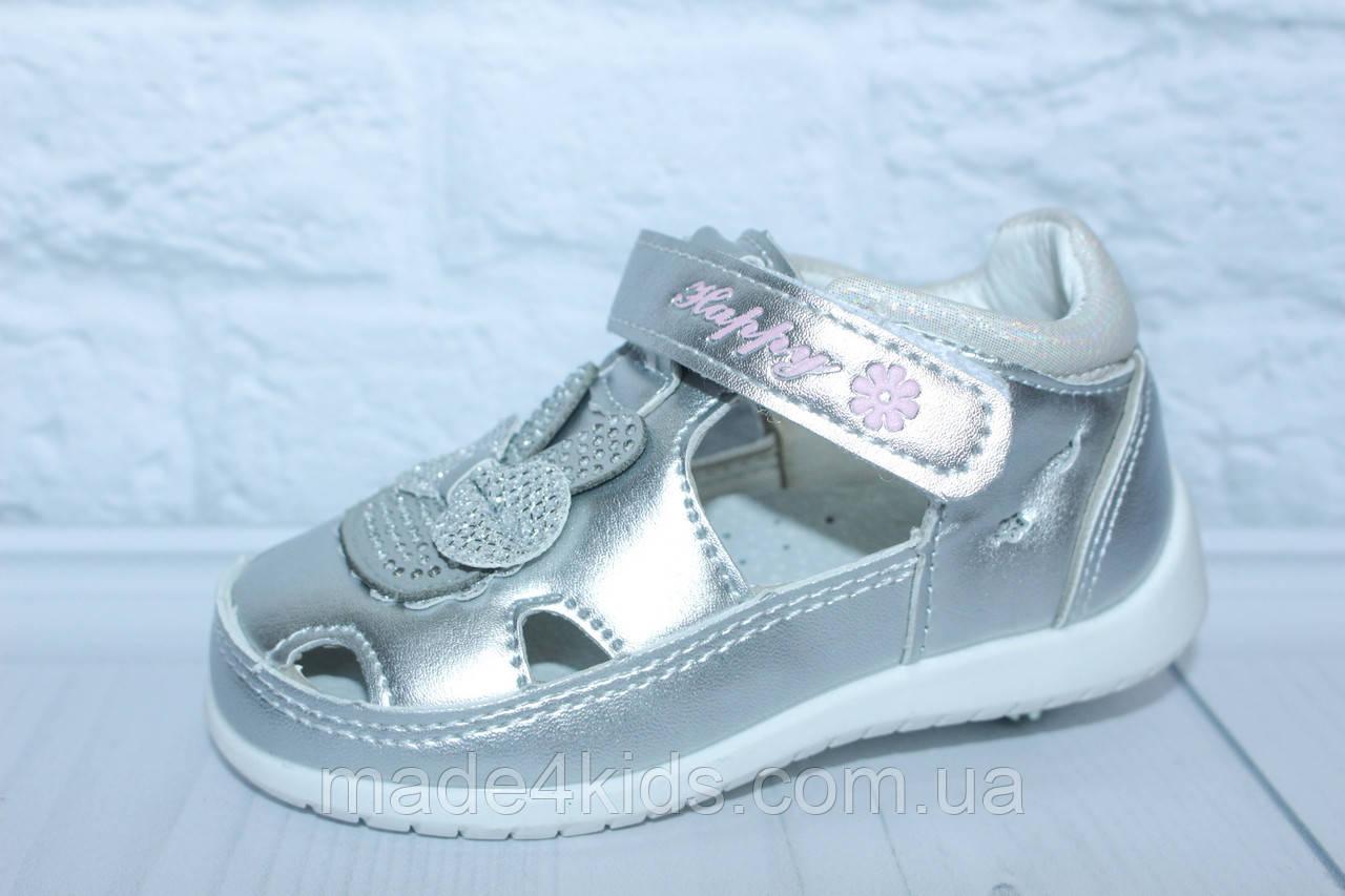 Легкие туфли-мокасины на девочку тм BBT, р. 22,24,26, фото 1
