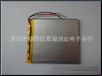 Аккумулятор 387685P 2800mAh Размер :3,8 мм * 76 мм * 85 мм литий-полимерный для планшета и другой электроники, фото 1