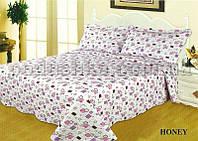 Покрывало с наволочками Dophia Ibiza Honey 220х250 см + 2 наволочки (50х70 см)