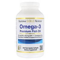 Рыбий жир Omega 3 Premium Madre Labs, 240 капсул