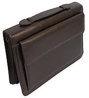 Папка-портфель JPB Польша AK-19 brown искусственная кожа