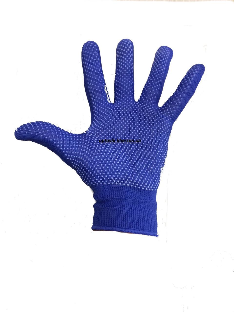 Перчатки рабочие нейлоновые (дачные)