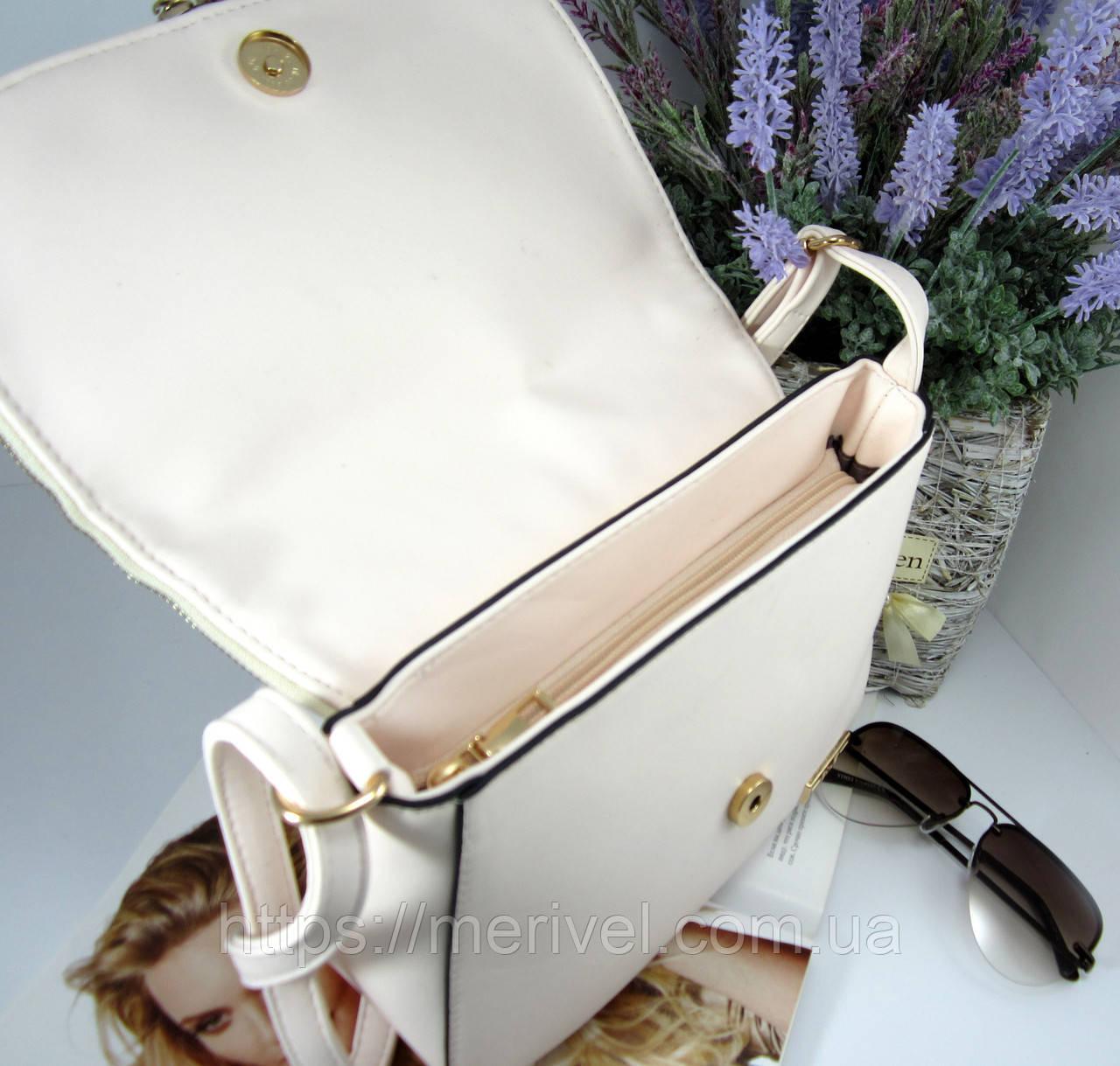 1e6bb8afd1e5 Женская сумка молочная f-708: продажа, цена в Одессе. женские ...