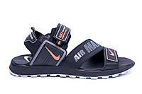 Мужские кожаные сандалии Nike Time Tested (реплика), фото 1