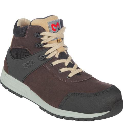 Защитные ботинки S3 ESD SRC NATURE BROWN Wurth