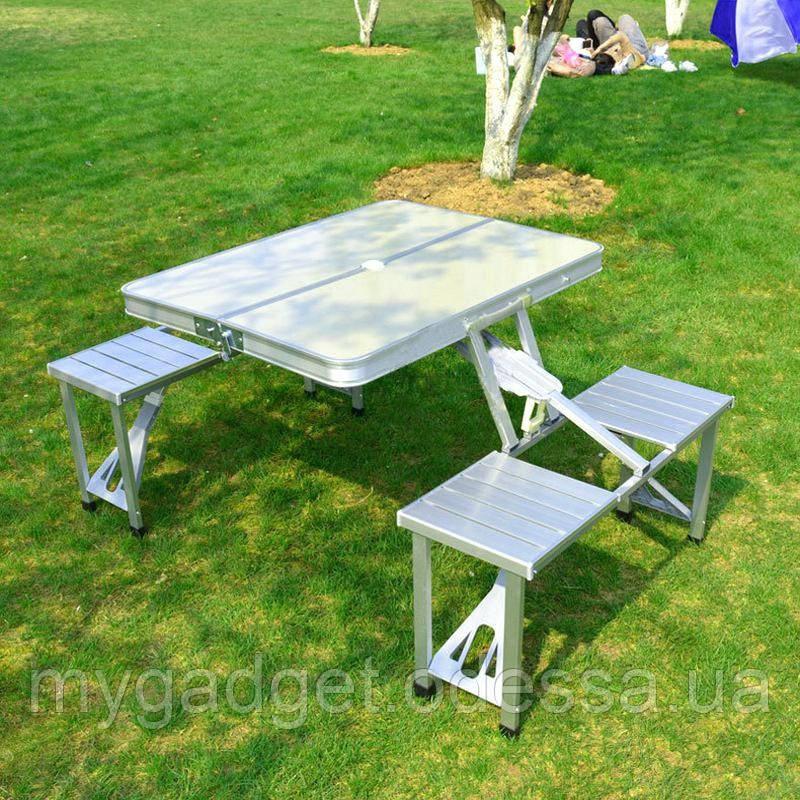 Раскладной стол для пикника со стульями
