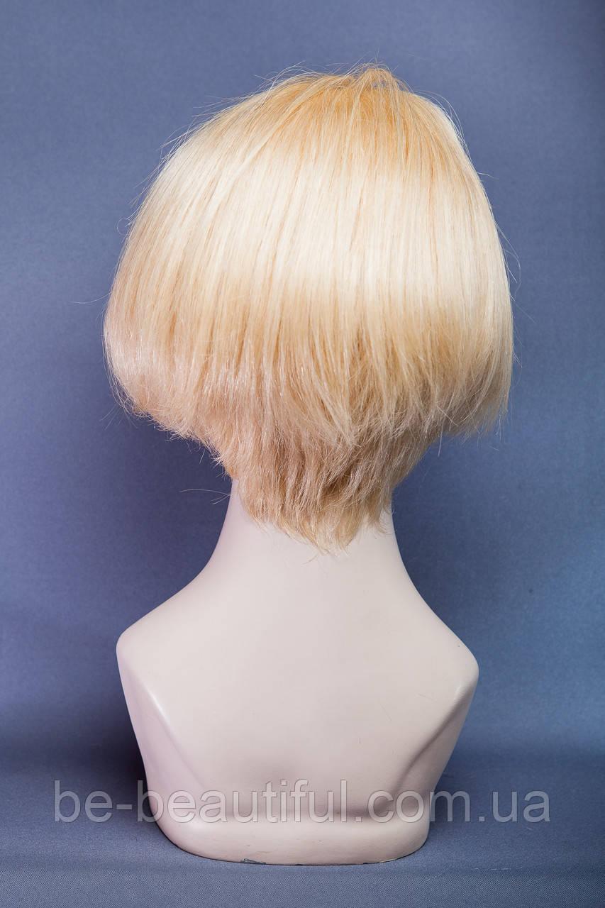 Натуральный парик №15, Цвет классический блонд