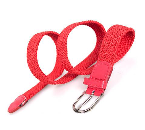 Женский эластичный пояс Dovhani REZ5602805-555 95-105 см Красный, фото 2