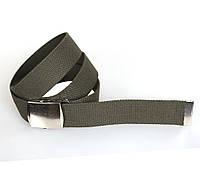 Мужской текстильный ремень Dovhani DH3503-11GREEN-555 115-130 см Зеленый, фото 1