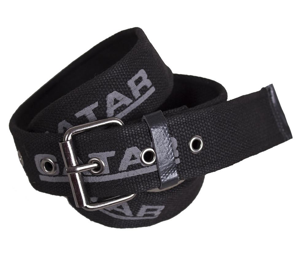 Мужской текстильный ремень Gatar E5698-16GBLACK-555 115-130 см Черный
