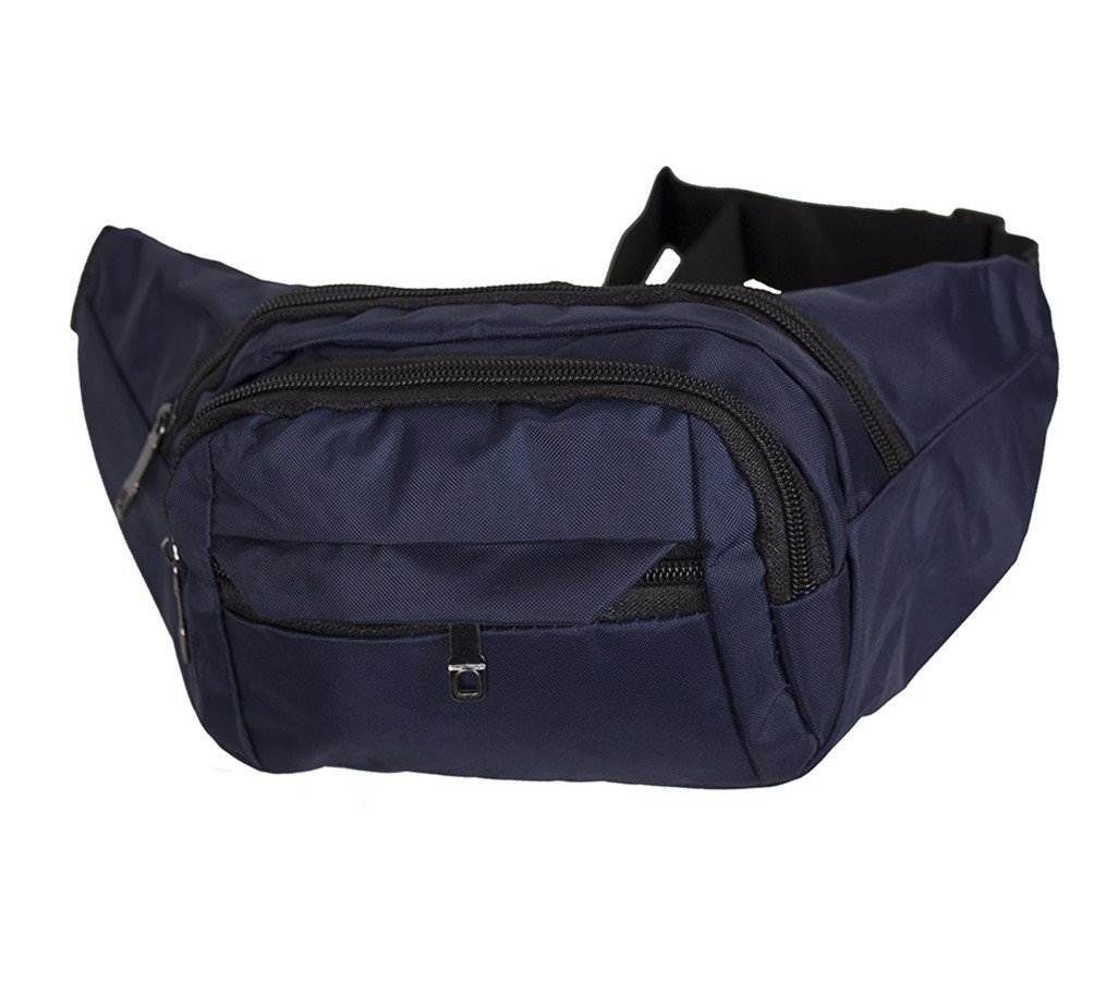 Сумка текстильная на пояс Dovhani Q003-8DBLUE1-555 Темно-Синяя