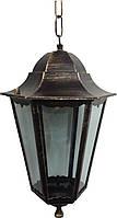 Светильник Lemanso  60W  PL6105(античное золото на цепочке)