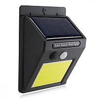 LED настенный светильник на солнечной батарее VARGO 5W COB (VS-102091)
