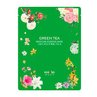 Тканевая маска с зеленым чаем Green Tea Essence Mask, фото 1