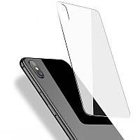 Защитное стекло на заднюю панель для iPhone XS