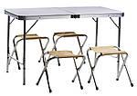 Раскладной стол для пикника с 4 стульями Easy Camping, фото 2