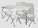 Раскладной стол для пикника с 4 стульями Easy Camping, фото 4