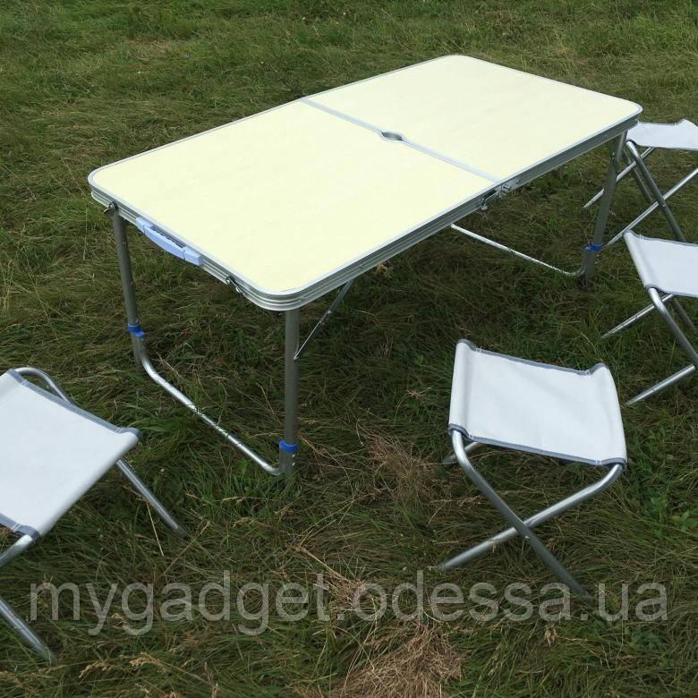 Раскладной стол для пикника с 4 стульями Easy Camping