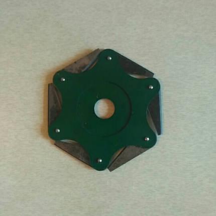 Нож триммера 6 лопастной сегментный, фото 2