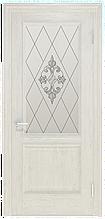 Двери INTERIA I-012.S01, полотно+коробка+1 к-кт наличников, шпон, срощенный брус сосны