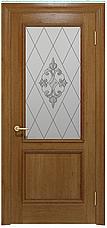 Двері INTERIA I-012.S01, полотно+коробка+1 до-кт наличників, шпон, зрощений брус сосни, фото 3