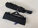 Зонт мужской автомат 9 спиц система антиветер крепкий, фото 3