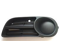 Оригинальная левая решетка (заглушка) переднего бампера Шкода Фабия Skoda Fabia 6y0807367b SkodaMag