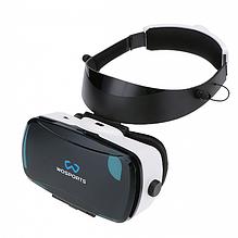 Очки VR WOSPORTS с встроенной гарнитурой  ABS material), with built-in earphone