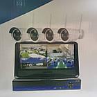Рег.+ Камеры DVR KIT CAD 8004 / 6673 WiFi 4ch набор на 4 камеры, фото 8