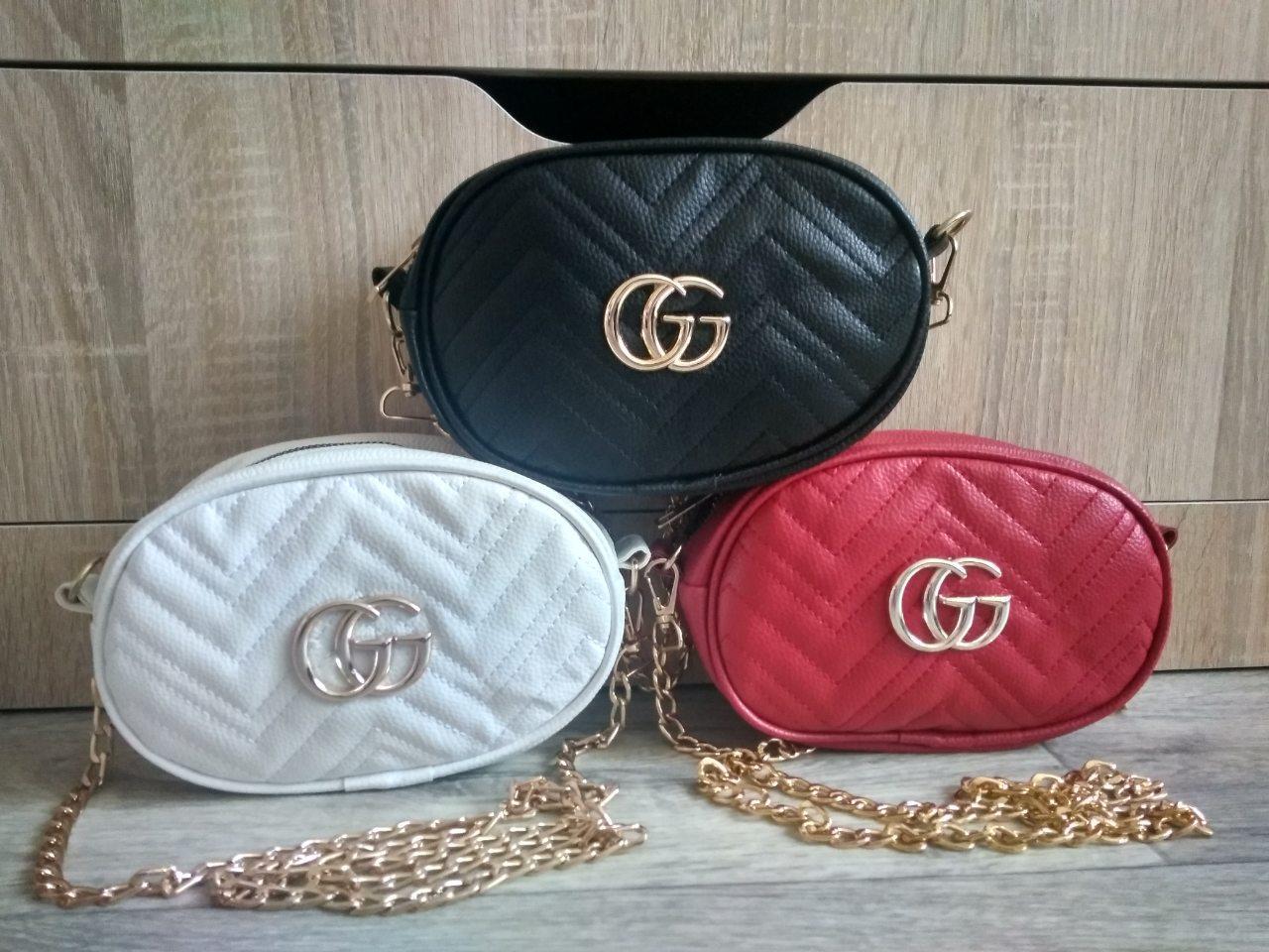 Женская сумка на пояс и через плечо (разные цвета)